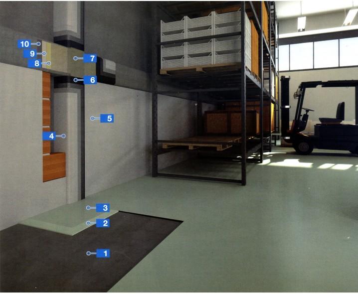 Система структурного усиления с помощью базальтовых волокон