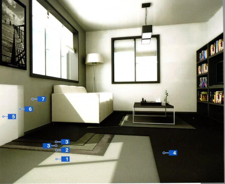 Декоративные покрытия для стен и обустройство внутри помещений полов с высокими эстетичными характеристиками