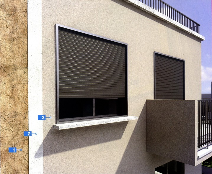Ремонт фасада с микротрещинами с помощью финишного покрытия