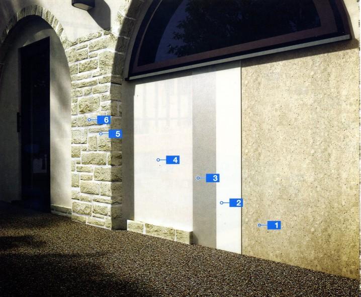 Комплексная система для высокопаропроницаемых штукатурок на существующих кладках и заполнения швов между камнем