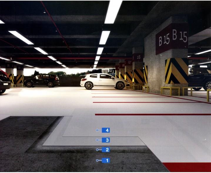 Mapefloor Parking System ME